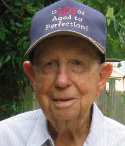 Erwin LeBlanc Sr. (ND 1926) enjoyed life for more than a century, before his death in 2005 at age 102.