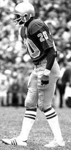 All-American defensive back Luther Bradley helped lead the 1977 Irish defense.