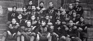 The Ohio Medical University Tigers, who hosted Notre Dame in games at Columbus in 1901 through 1904.