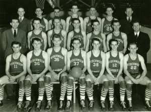 1941 Wisconsin basketball champs